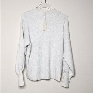 NWT A New Day Bishop Sleeve Sweater